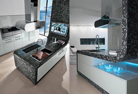 mosaico cucina moderna : BlogArredo - Dettagli del post: Mosaico in cucina