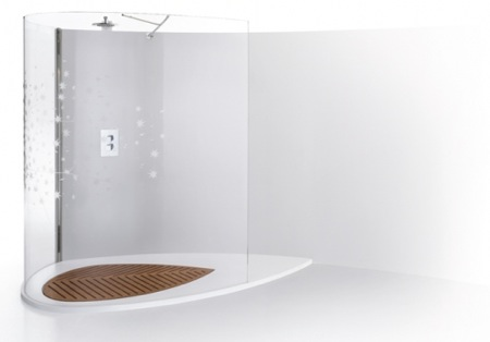 Blogarredo dettagli del post una doccia da sogno - Doccia senza piatto doccia ...